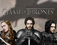 Game Of Thrones - Key Art Design