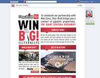 Char-Broil / Man Cave Worldwide Facebook  Photo Contest