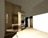 3D cad Rendering - Private apartament - Bedroom