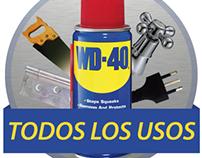 Usos WD-40