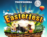 Easterfest 2012 Branding