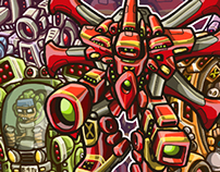 Pop Mechs Stickers