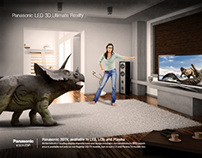Panasonic LED 3DTV Campaign