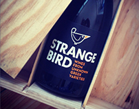STRANGE BIRD WINES labels
