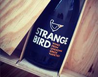 STRANGE BIRD WINES labels