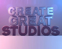 Create Great Studios Show Reel 2014