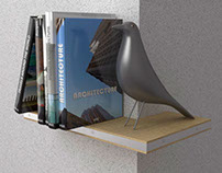 ELLE - angular shelf