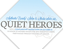 Event Invitation CURE Childhood Cancer