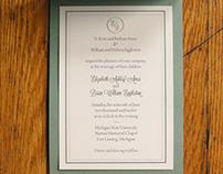 Classic Wedding Invitation Suite
