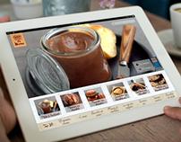 iOS6 Ipad - Concept Nestlé Dessert
