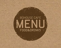 BoHouse Cafe Menu