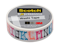 Scotch 3M Expressions Tape