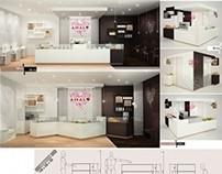 Store design: AMALO - 2°classificato