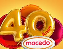 40 anos Macedo
