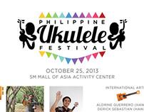 Philippine Ukelele Festival event poster