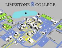 Limestone College Campus Map