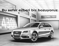 Print Advertising for AUDI