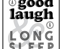 Laugh & Sleep