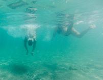 nuotando nell'aria