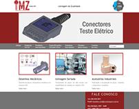 Desenvolvimento do site MZ Usinagem