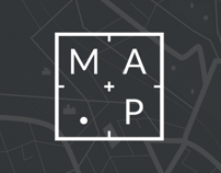 Brand identity, site design and animation for .MAP