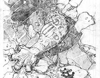 Penciled Comic Art