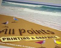 All Points Printing Postcard