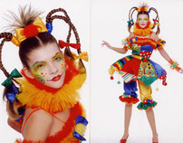 Photos and Sketches of carnival costumes (2000-2007)