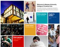 College of Creative Arts website