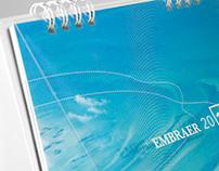 Calendário Embraer 2012