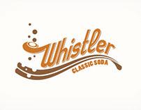 Whistler Clasic Soda Logo