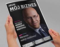 ARUM S.A. / print design / business & finance magazine