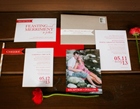 Susie & Derek's Wedding Invitation Package