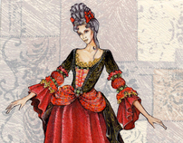 Carnival costumes: sketches, (2000-2006)