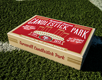 49ERS 2013 FAREWELL CANDLESTICK CAMPAIGN
