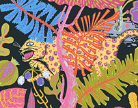 Jaguars & Jungles Pattern