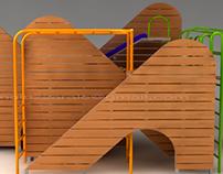 Equipamiento Infantil para plazas