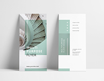 MINT Multipurpose Trifold Brochure Template