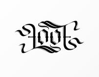 Love Ambigram