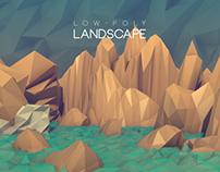 3D MODELLING: Low-Poly Landscape