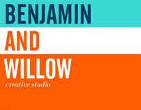 benjamin + willow | creative studio: business card