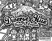 Diverse Hue Doodle