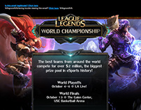 Riot Games Email Design