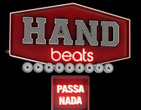 3D Typography Hand Beats.
