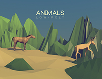 3D MODELLING: Low-Poly Animals
