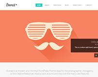 Everest   WordPress Portfolio Theme