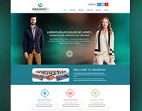 Imagenin Responsive website design