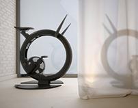 3D model of Ciclotte exercise bike