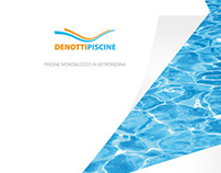 Denotti Piscine Print Brochure