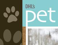 Pet Lifestyles Logo / Magazine Layout